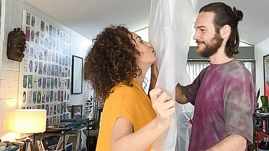 'Amor e Sorte': Fabiula e Emilio falam sobre experiência de viver casal em série