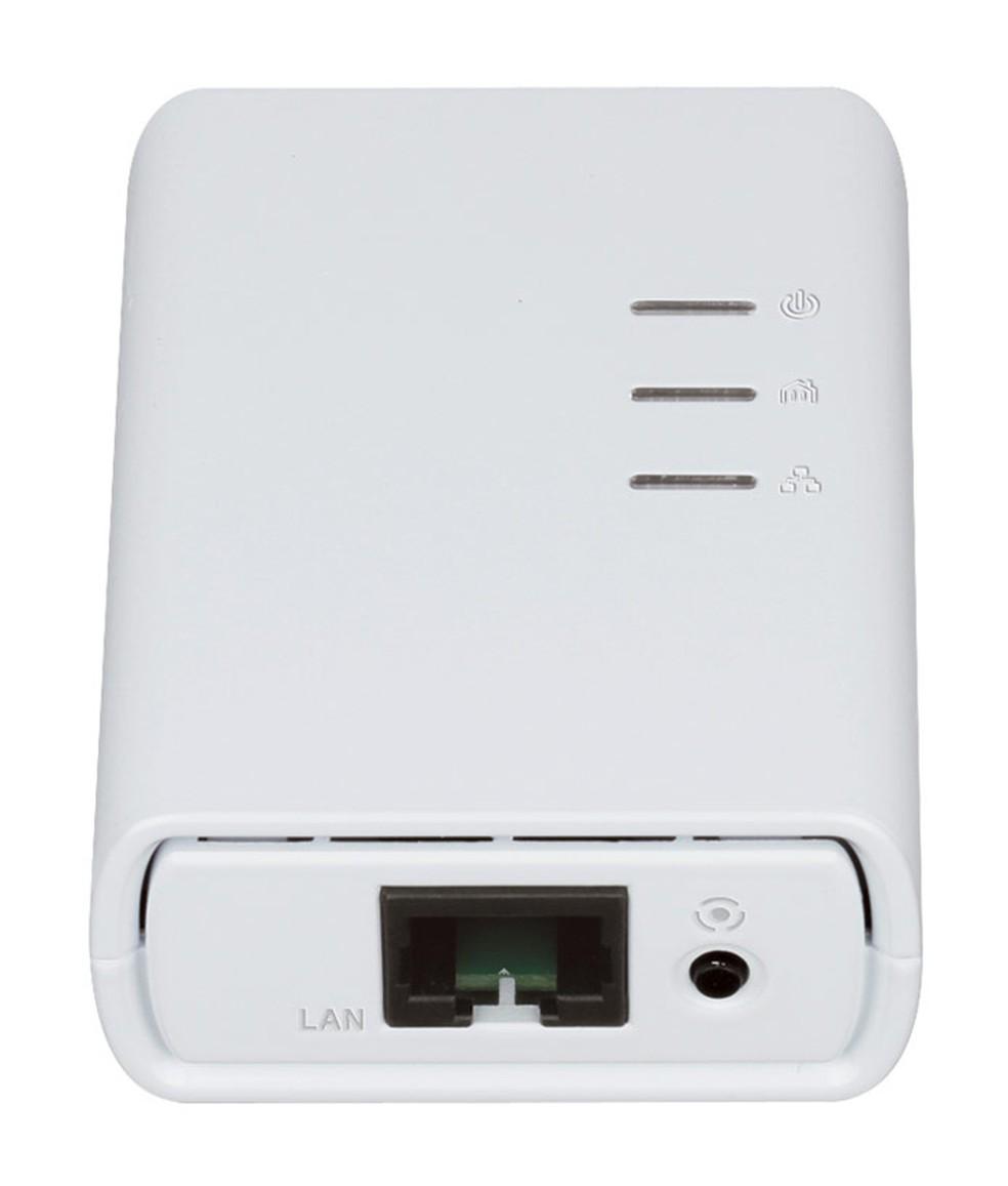Adaptador também pode ser usado para conectar via cabo — Foto: Divulgação/D-Link