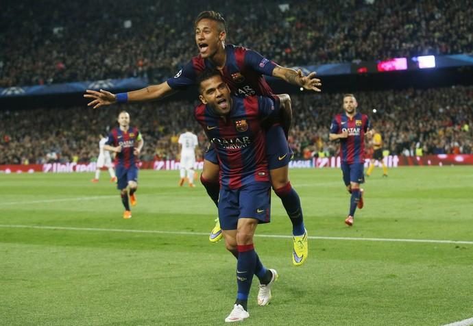 Neymar gol Barcelona x Paris Saint-Germain (Foto: Reuters)