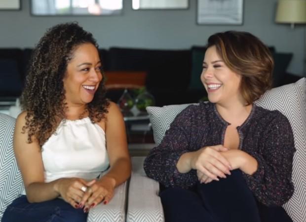 Aretha Oliveira e Fernanda Souza (Foto: Reprodução/Youtube)