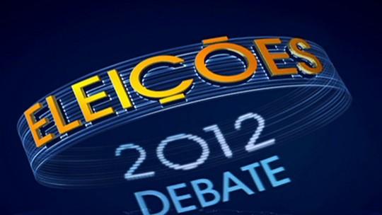 Debate Eleições 2012 - Rio de Janeiro - Segundo bloco