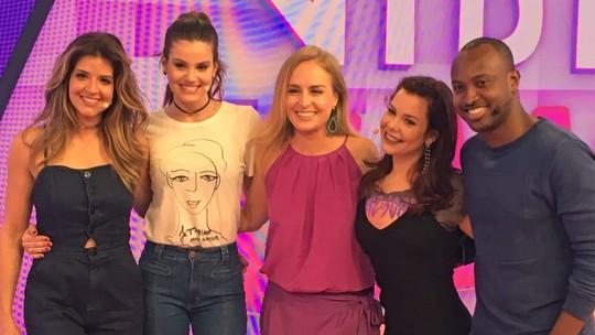 Mariana Santos e Camila Queiroz enfrentam Fernanda Souza e Thiaguinho na reestreia do 'Vídeo Game'