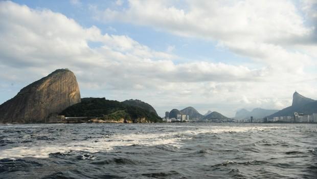 Baía de Guanabara (Foto: Tânia Rêgo/Abr)