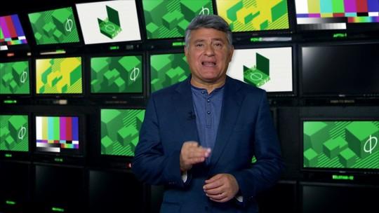 Cléber Machado encerra mais um Zona Mista