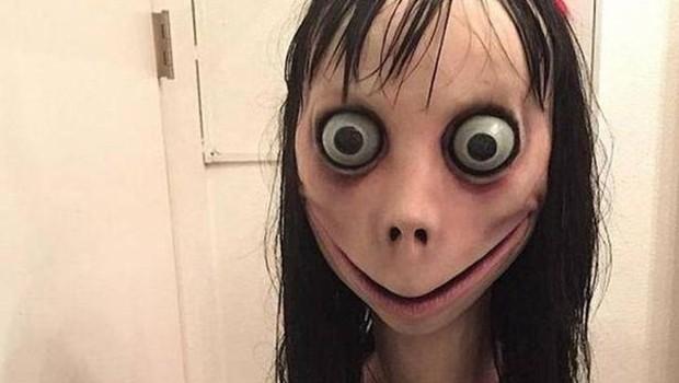 """Esta é a cara da """"Momo"""" (Foto: Direito de imagemUIDI/TWITTER via BBC)"""