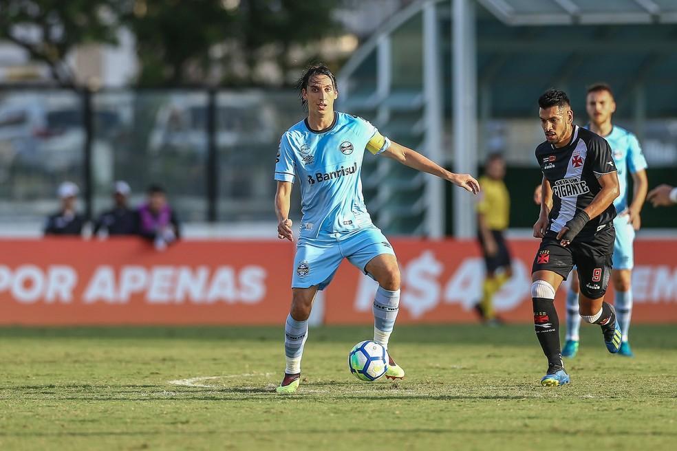 Tricolor teve má jornada contra o Vasco (Foto: Lucas Uebel/Divulgação Grêmio)