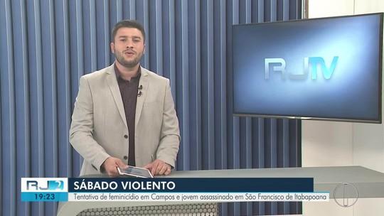 Homem morre após colidir com carro contra parede de mercado na RJ-194, em São Fidélis