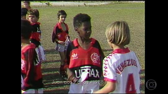 Pais de Juan contam que zagueiro do Fla era fanático pelo clube desde pequeno