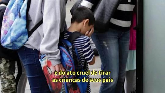 Olhar Em Pauta: crianças separadas na fronteira relatam abusos em abrigos nos EUA
