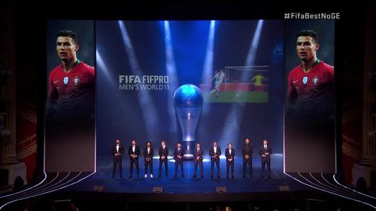 Confira a seleção dos melhores do mundo em premiação da Fifa