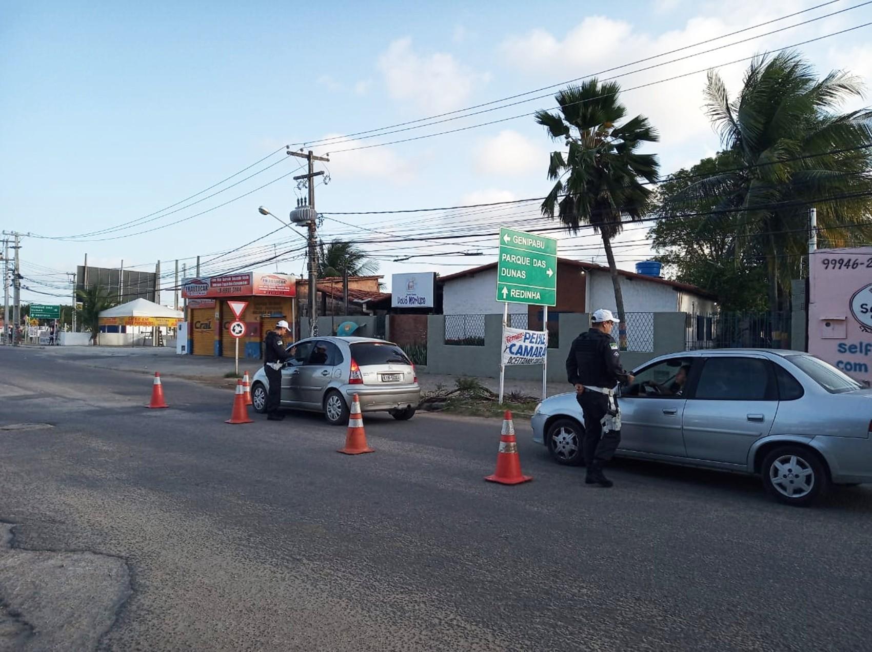 Blitz da Lei Seca autua 47 motoristas na Zona Norte de Natal - Notícias - Plantão Diário