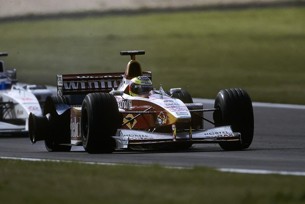 Ralf Schumacher esteve perto da vitória em Nürburgring, em 1999 — Foto: Getty Images