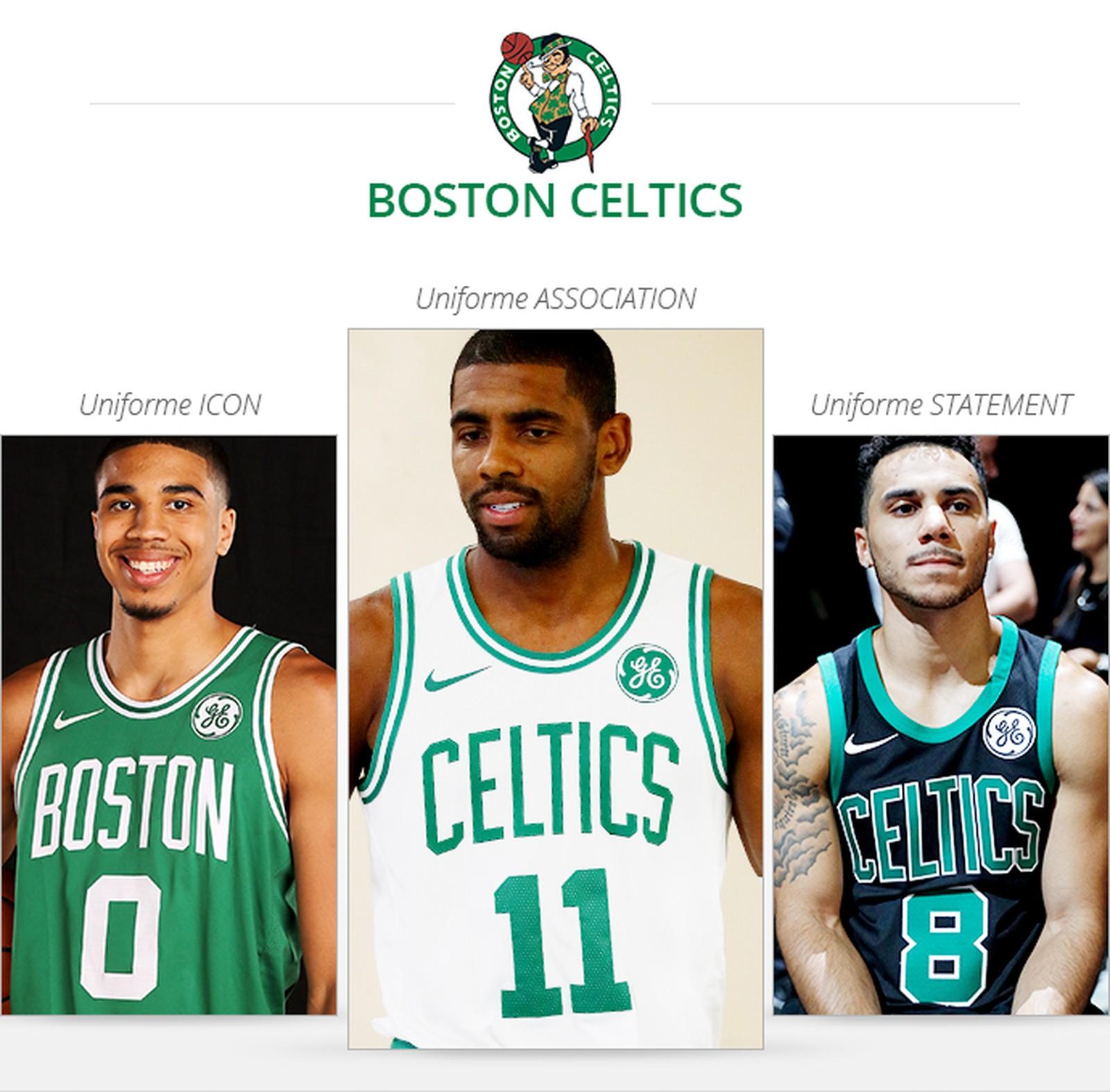Uniformes Boston Celtics 2017/18