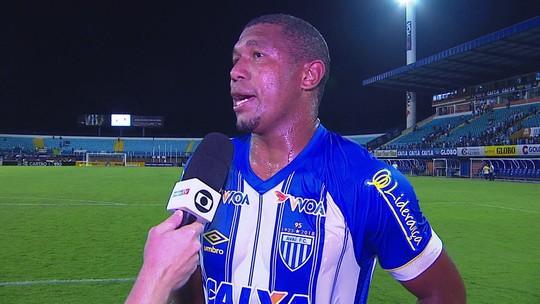 Autor do gol do empate do Avaí, Rodrigão diz que não pode desistir antes do apito final