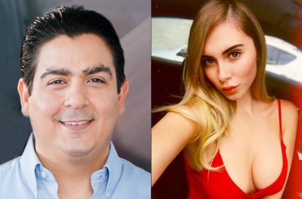 Ismael Cabeza deVaca e a foto de Fernanda Moreno compartilhada por ele (Foto: Reprodução Facebook/Reprodução Instagram)