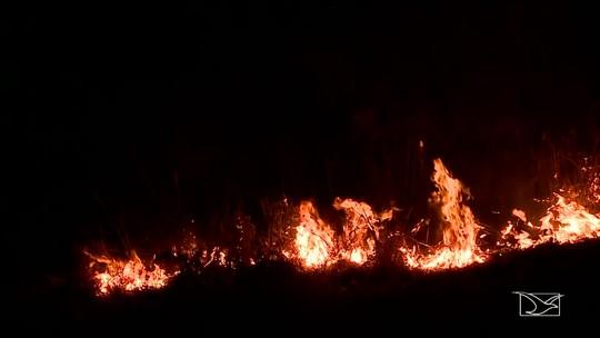 Focos de incêndio preocupam motoristas na Região Tocantina