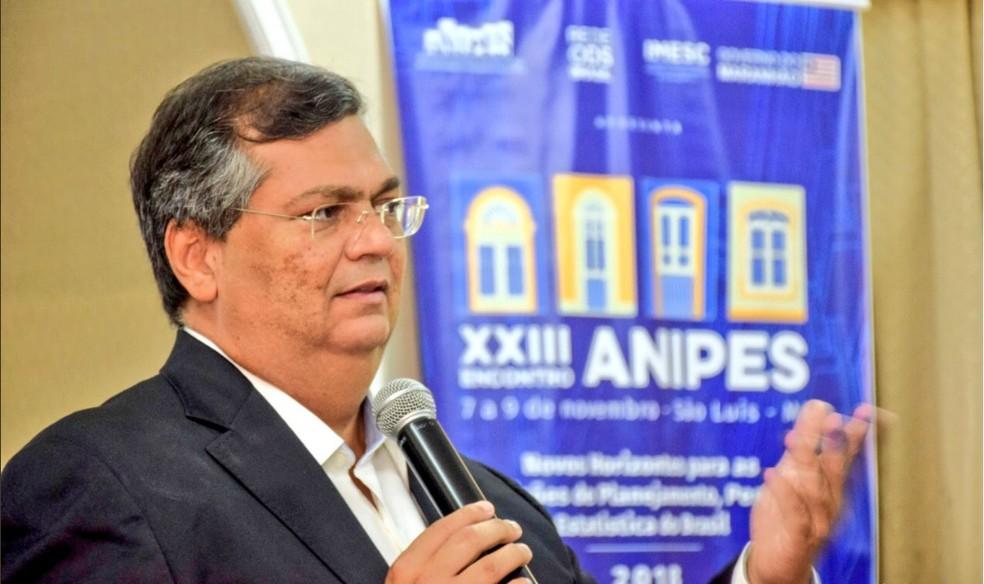 Flávio Dino, governador do Maranhão — Foto: Reprodução/Twitter