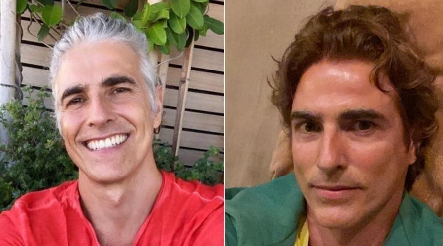 Reynaldo Gianecchini desiste de cabelo grisalho e pinta de ...  Reynaldo Gianecchini Depois Do Cancer