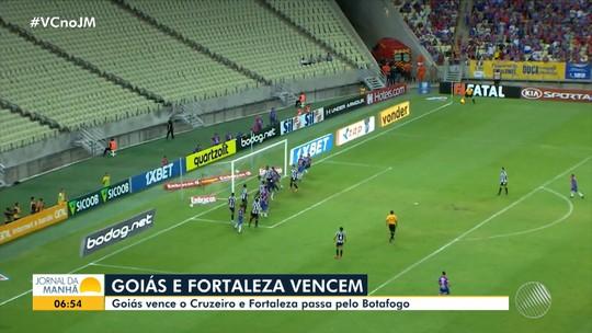 Confira os gols dos jogos de segunda-feira pelo Campeonato Brasileiro