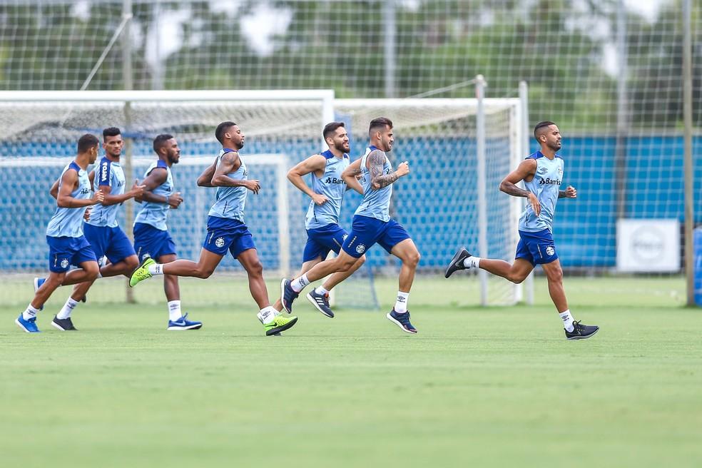 Grupo do Grêmio tem situação sem muitas dúvidas para Libertadores — Foto: Lucas Uebel/Grêmio