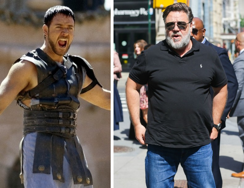O ator Russell Crowe tem planos de perder peso (Foto: Getty Images)