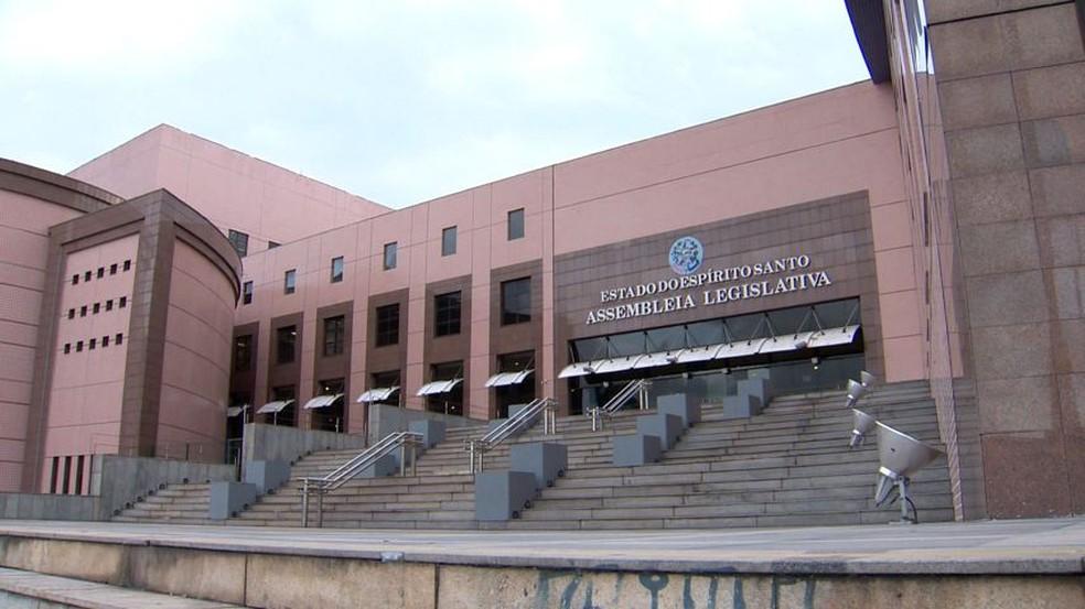 Assembleia Legislativa do Espírito Santo — Foto: Reprodução/TV Gazeta