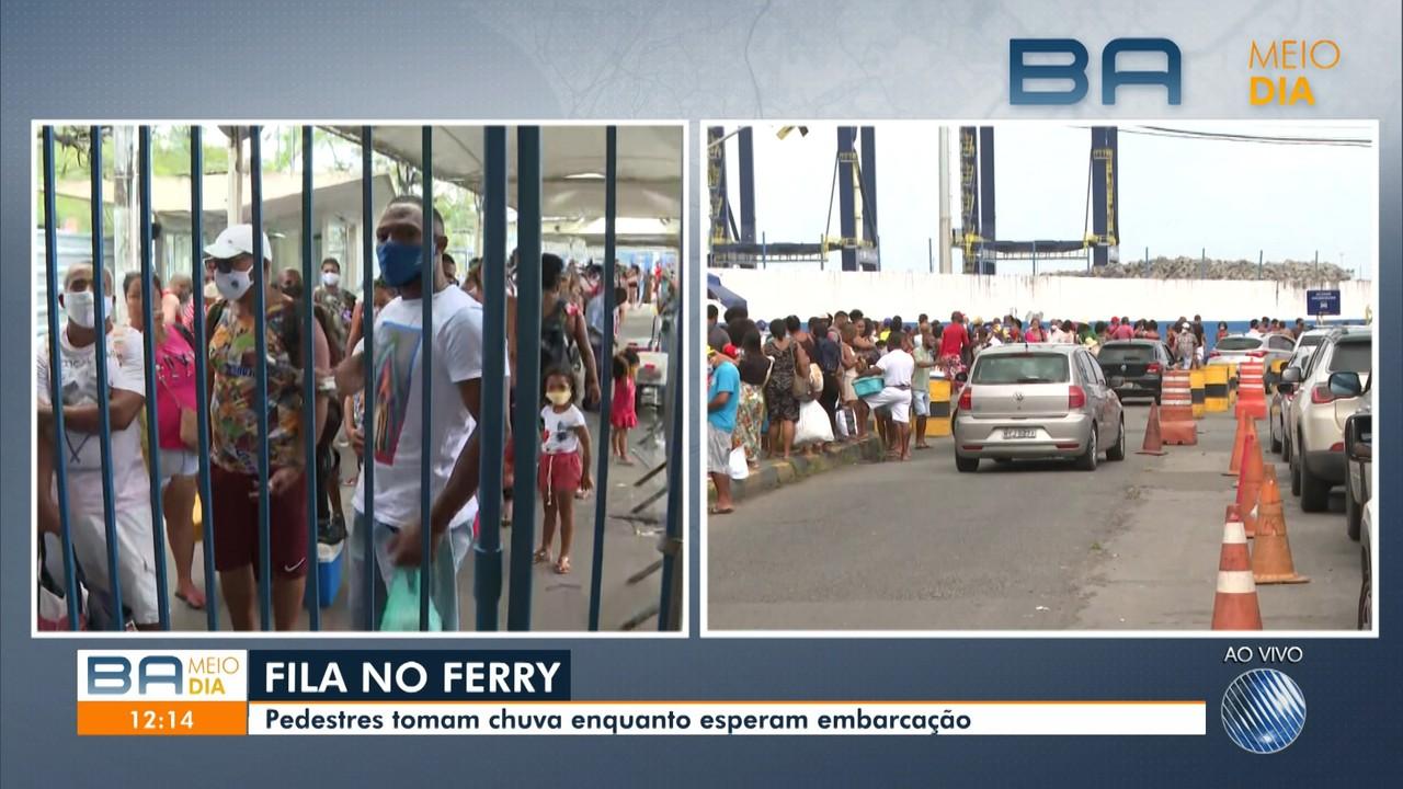 Terminal de São Joaquim tem movimento intenso neste sábado, por causa do feriadão