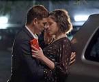 Reynaldo Gianecchini e Agatha Moreira em cena de 'A dona do pedaço' | Reprodução