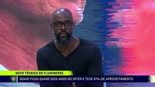 """Grafite diz que Odair tem tudo para dar certo no Flu, e Rezende destaca: """"Não pensa futebol como o Diniz"""""""