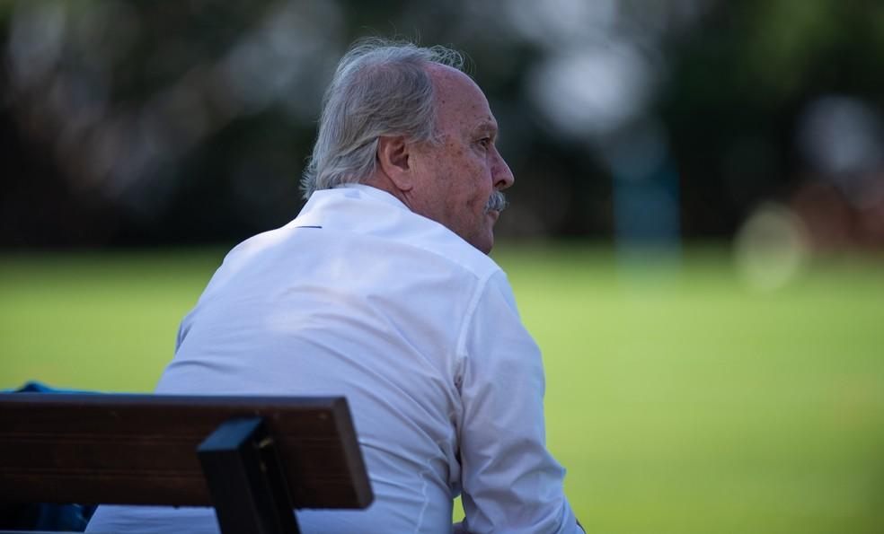 Wagner Pires de Sá, presidente do Cruzeiro — Foto: Bruno Haddad/Cruzeiro