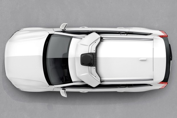 Volvo XC90 autônoma da Uber (Foto: Divulgação)
