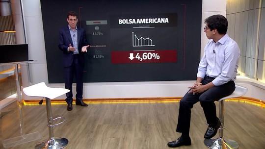 Bolsa de Nova York cai mais de 4%