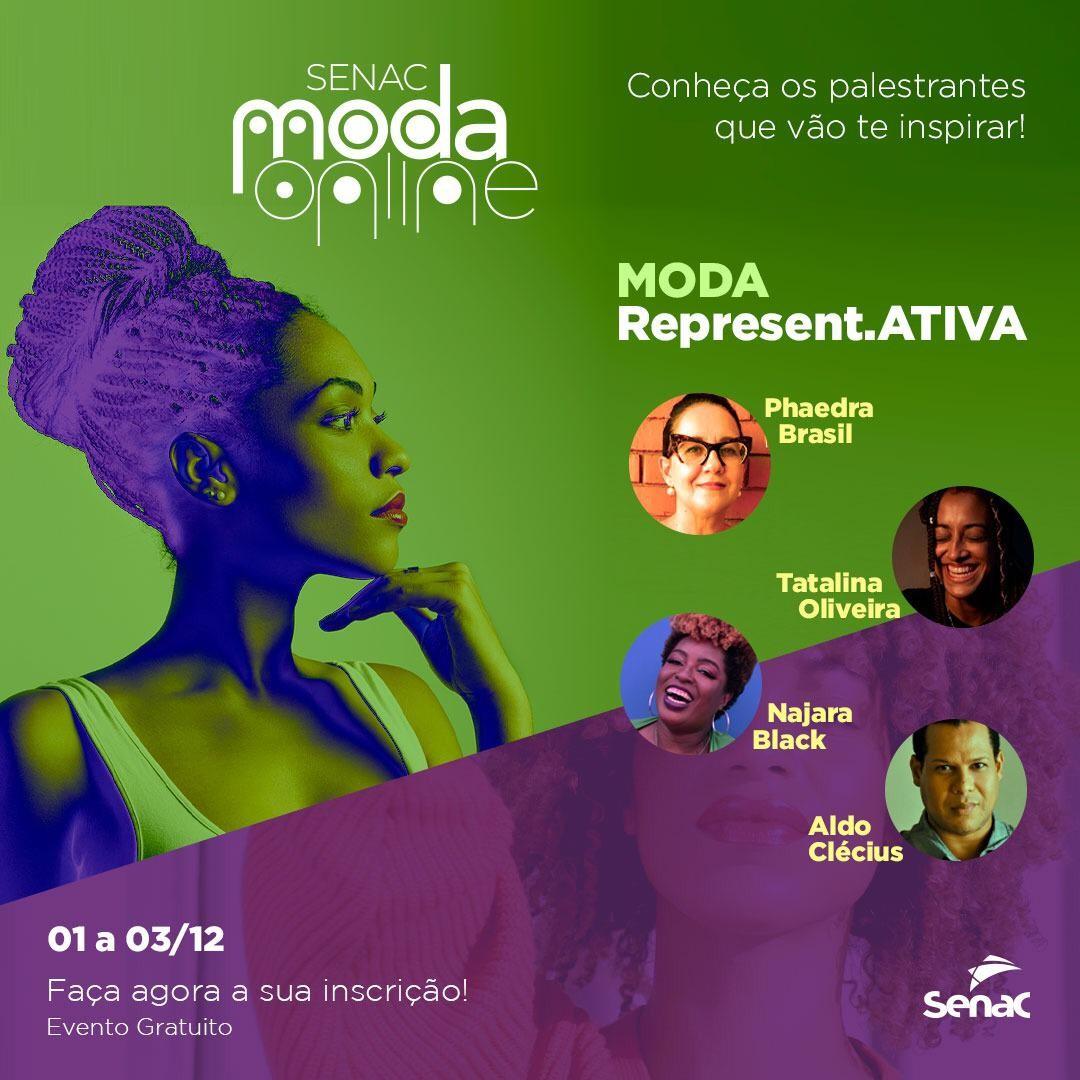 Senac Moda Online promove debate sobre representatividade e cultura com professores de Caruaru