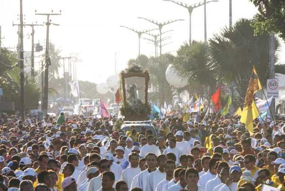 Caminhada com Maria em Fortaleza tem percurso de 12 quilômertos (Foto: Divulgação)