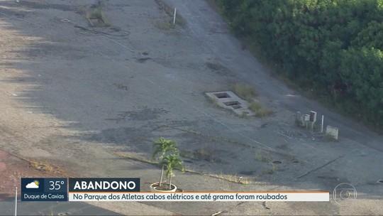 Parque dos Atletas sofre com abandono e é alvo de vandalismo
