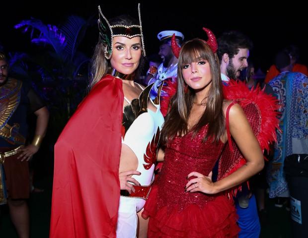 Deborah Secco e Giovanna Lancellotti (Foto: Roberto Filho/Brazil News)
