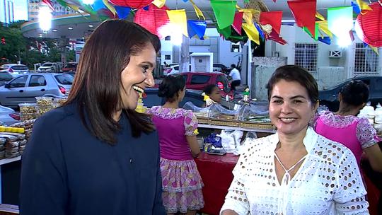 Sergipana faz sucesso com bolo de tapioca e é destaque no 'Mais Você'