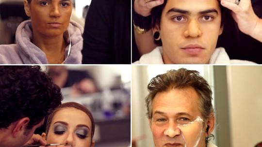 Veja como foram as transformações do elenco do 'Show dos Famosos'!
