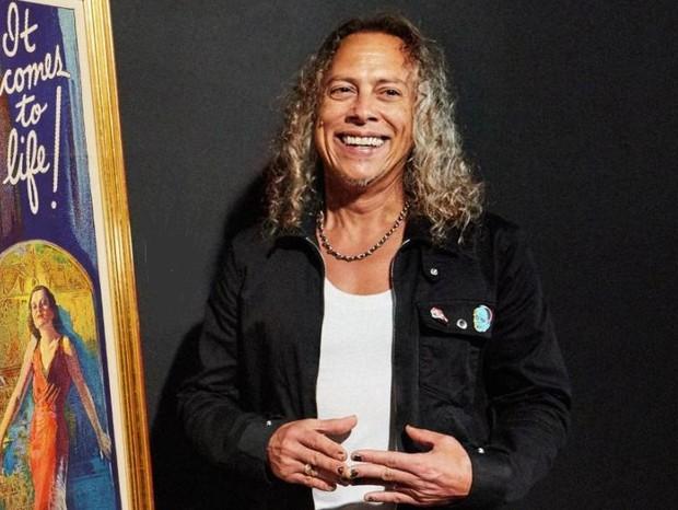 Vocalista do Metallica disputa pôster (Foto: Divulgação/Sothesby)
