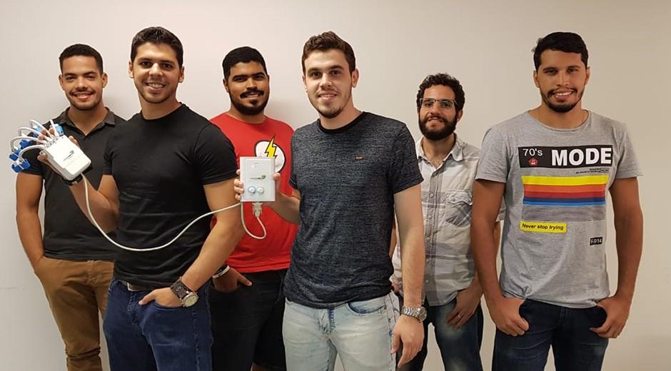 A equipe da Neurobots (Foto: Agência Sebrae de Notícias)