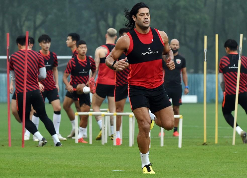 Hulk tem contrato com clube chinês até o fim do ano — Foto: VCG/VCG via Getty Images