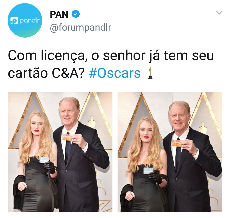Prova de vida no Oscar 2018 (Foto: Reprodução/Twitter)