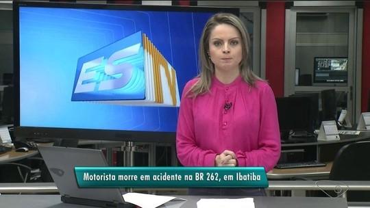 Carreta invade contramão e mata motorista em Ibatiba no ES