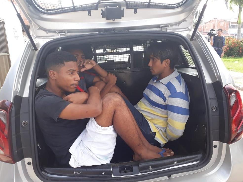 Três pessoas foram presas na 5ª fase da operação 'Cerco Total' (Foto: Divulgação/Polícia Militar)