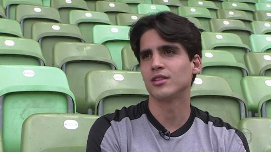 Blanco evita dar prazo para voltar ao Atlético-MG, projeta 2019 sem lesões e pensa em jogar com Elias