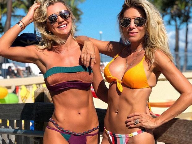 Ana Paula Siebert e amiga (Foto: Reprodução/Instagram)