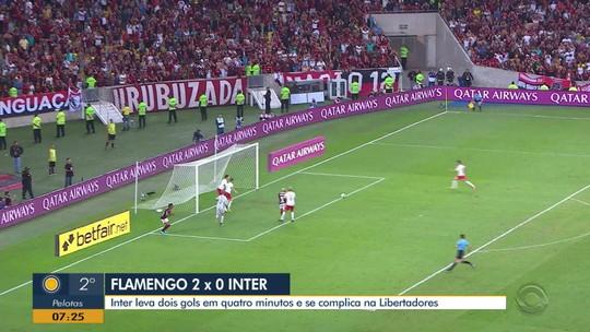 """Inter inicia remobilização ainda no Maracanã e se diz """"vivo"""" após derrota: """"Cabeça erguida"""""""