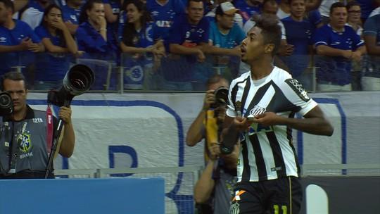Bruno Henrique tem chance de recuperar boa fase em estádio do último gol pelo Santos