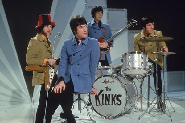 Os músicos do The Kinks em uma apresentação em 1968 (Foto: Getty Images)