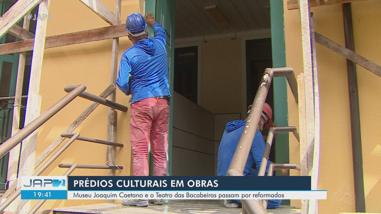 Museu Joaquim Caetano e Teatro das Bacabeiras, em Macapá, passam por reforma na pandemia